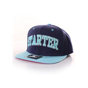 Starter College Arch Snapback (navy/teal)
