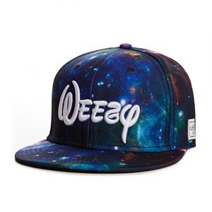 Cayler & Sons Weezy Snapback (galaxy/white)